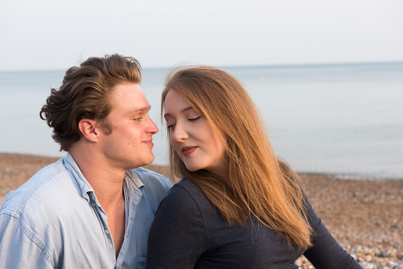 Couple photographer - loving couple in Sussex