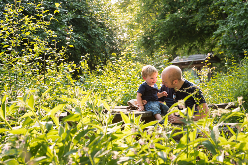 father and son - family photography horsham