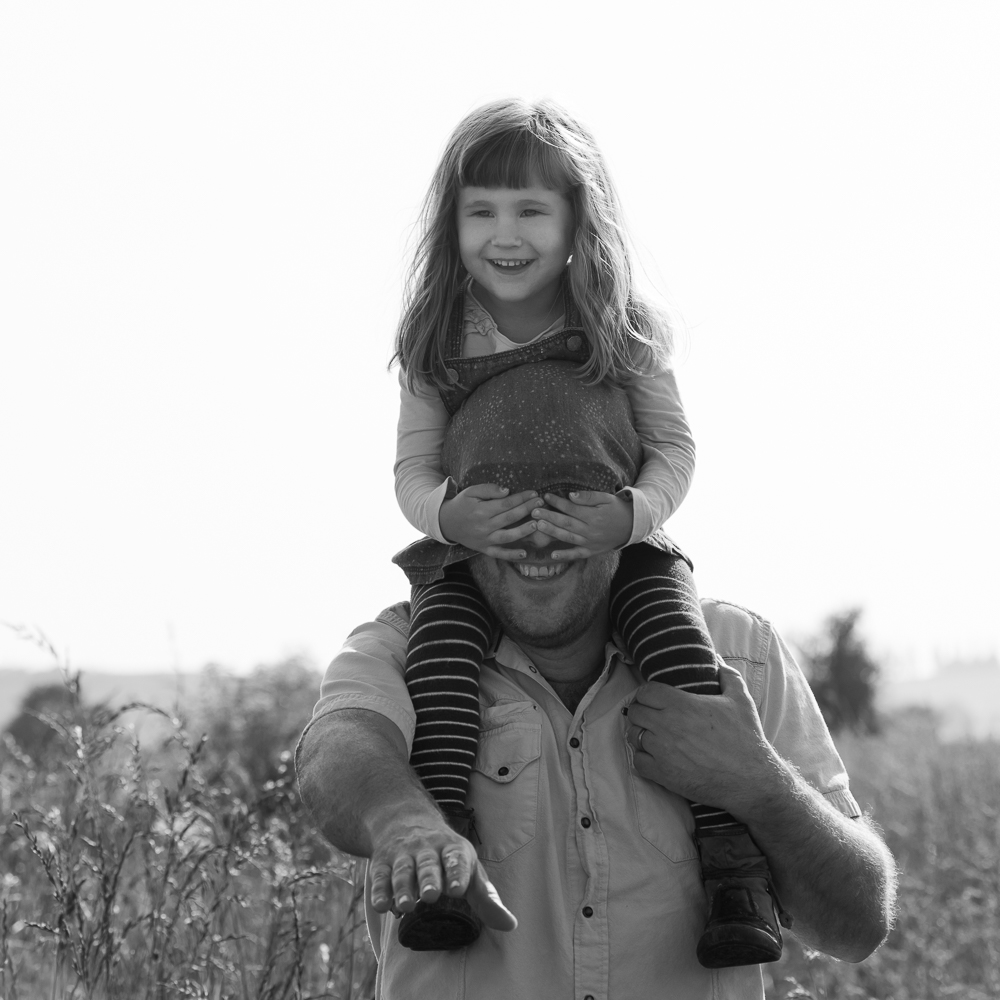 fun family photography sussex - father and daughter